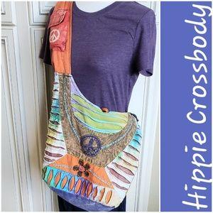 Hippie/Boho Crossbody Bag